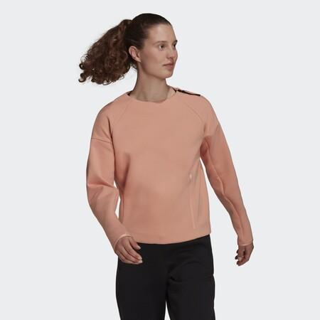 Sudadera Adidas Z N E Sportswear Rosa H40979 21 Model