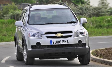 Chevrolet Captiva, diesel a precio de gasolina en el Reino Unido