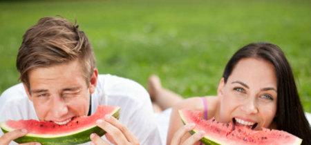Una pequeña selección de frutas del verano para llevar mejor el calor