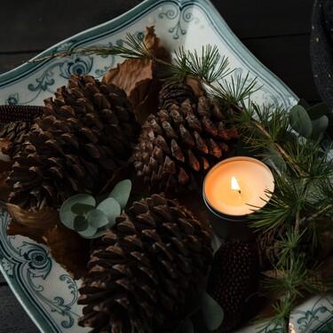Cinco velas para aromatizar y ambientar tu hogar con el espíritu de la navidad