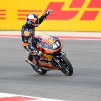 Las cuentas de Brad Binder para ser campeón del mundo de Moto3 en Motorland Aragón