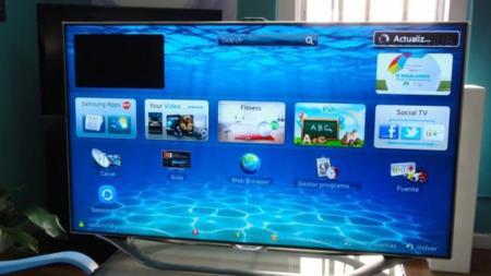 Interfaz Samsung SmartTV 2012