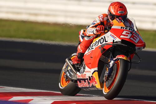 Marc Márquez lidera el primer doblete de Honda desde 2017, Pecco Bagnaia se cae y Fabio Quartararo ya es campeón