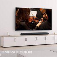 Mejora el sonido de tu tele por menos de 60 euros con esta barra de sonido 2.0 TCL TDS6100 que Amazon tiene rebajada en 20 euros