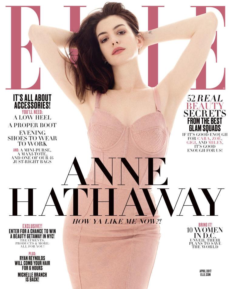 Elle USA: Anne Hathaway