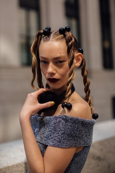 New York street style manicura