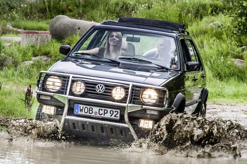 Volkswagen Golf Country Syncro: era un crossover, 4x4, oficial y adelantado a su época