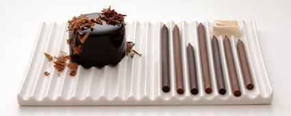 Lápices de chocolate