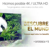 Los primeros canales 4K Ultra HD en México son ofrecidos por TotalPlay
