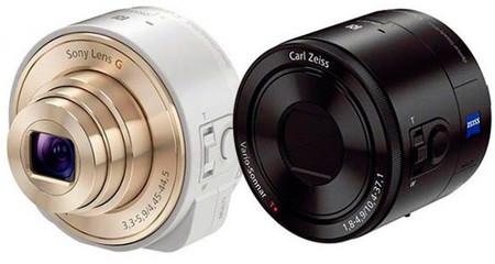Sony QX10 y QX100, revolucionarias cámaras para acoplar a smartphones