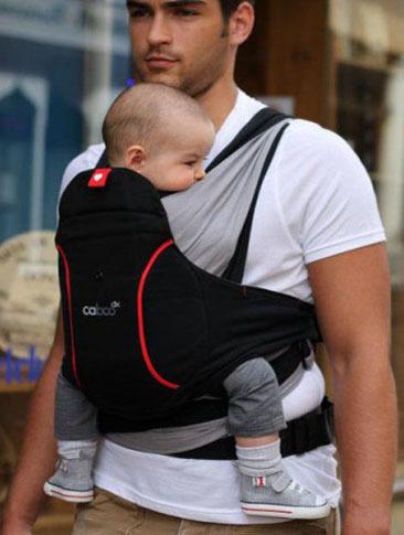 Portabebé Caboo dx para regalar a papá en el Día del Padre