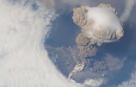 Explosion Volcan