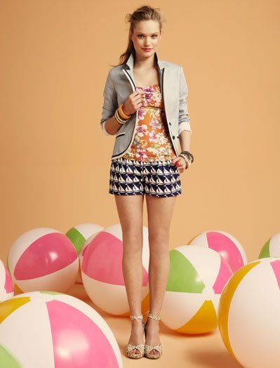 Total look Blanco, lookbook Verano 2011