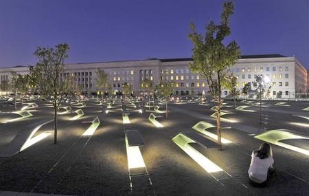 El monumento por el atentado del 11S en Washington