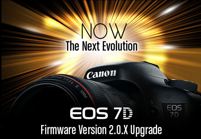 CAnon 7D Firmware 2.0