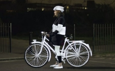 LifePaint: Volvo quiere pintar a los ciclistas por su propia seguridad