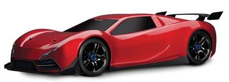 Traxxas X0-1, un juguete eléctrico más rápido que un Bugatti Veyron