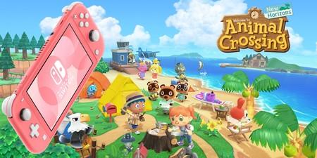 Ahorra 20 euros en la consola más ligera de Nintendo y el juego de moda: Switch Lite + Animal Crossing a 229 euros en Media Markt