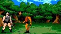 Vídeo recopilatorio de muertes en videojuegos antiguos. Curioso y macabro, aunque maravilloso, homenaje retro