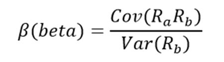 Beta Formula