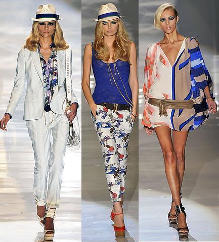 Gucci en la Semana de la Moda de Milán Primavera Verano 2009