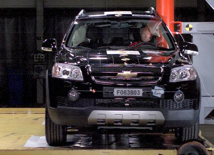 Chevrolet Captiva - EuroNCAP
