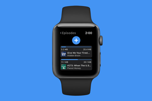 Outcast, la app para descargar y escuchar podcasts directamente en el Apple Watch