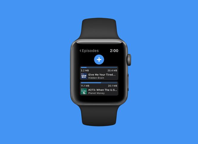 Outcast, la app para descargar y escuchar podcasts directamente en el Apple Watch