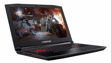 Ofertón en Amazon: portátil gaming Acer Predator Helios 300 con i5-8300H, 8 GB RAM, 1 TB+128 GB SSD y GTX 1060 por 799 euros