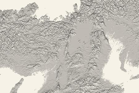 Peak Map: la aplicación que convierte en arte el relieve de cualquier punto del planeta
