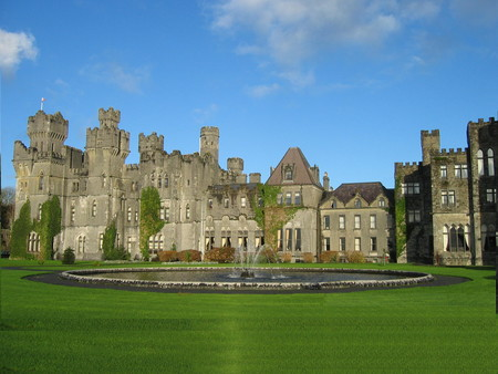 Ashford Castle In County Mayo