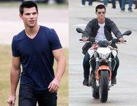Taylor Lautner en las primeras fotos del rodaje de 'Abduction'