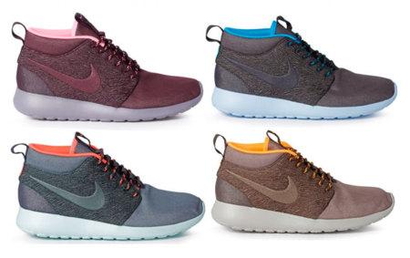 Nike Roshe Mid City Pack, lleva medio mundo en tus pies