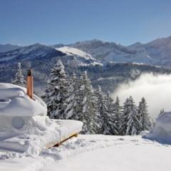 Foto 1 de 14 de la galería un-resort-de-iglus-en-suiza en Decoesfera