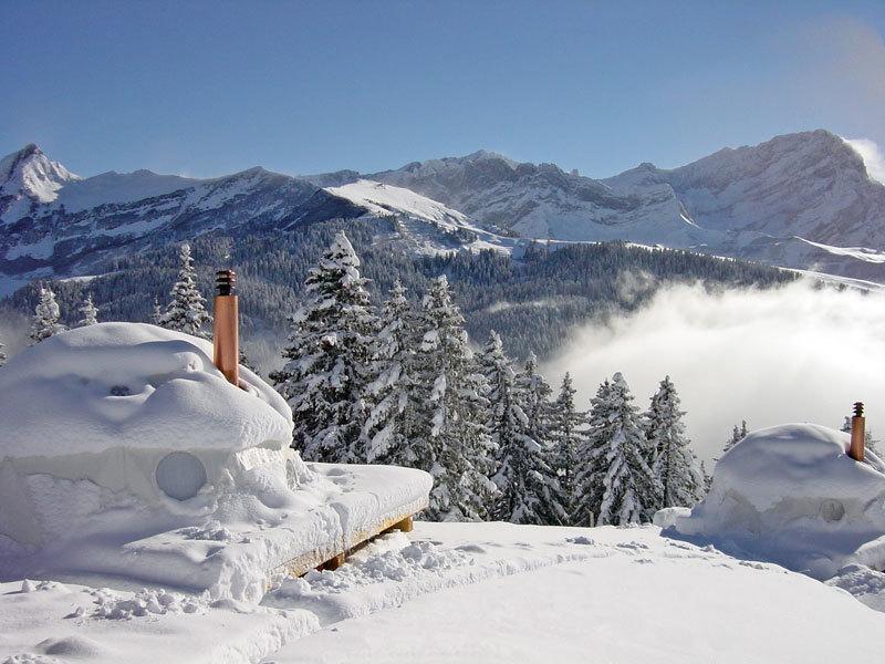 Foto de Un resort de iglús en Suiza (1/14)