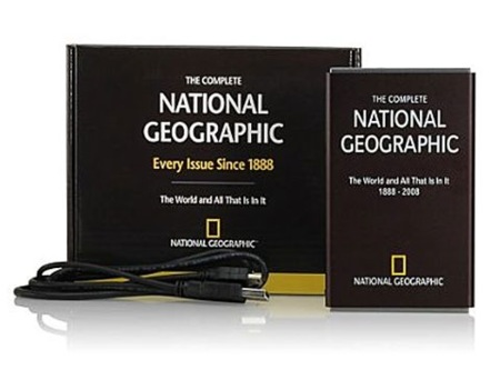 Todos los números de National Geographic en 160 GB