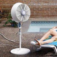 Decoración antimosquitos: ventiladores