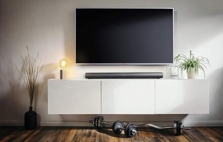 Esta barra de sonido barata de Sharp tiene Bluetooth, 40W de potencia y te permitirá mejorar el sonido de tu TV por 44 euros