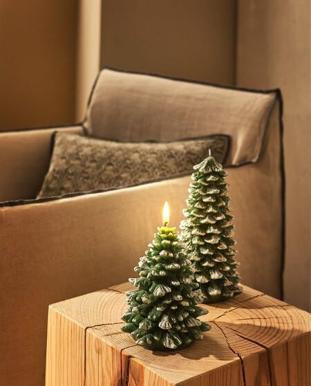 Vela Navidad Arbol