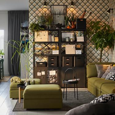 Orden (y almacenaje) en el salón gracias a estas 9 ideas de Ikea