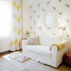 Foto 3 de 5 de la galería decoracion-a-rayas-blancas-y-amarillas en Decoesfera