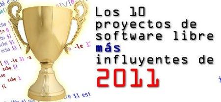 Software libre: los 10 más importantes de 2011