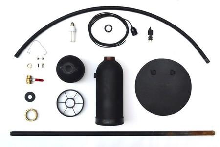 Hazlo tú mismo: una lámpara con un extintor