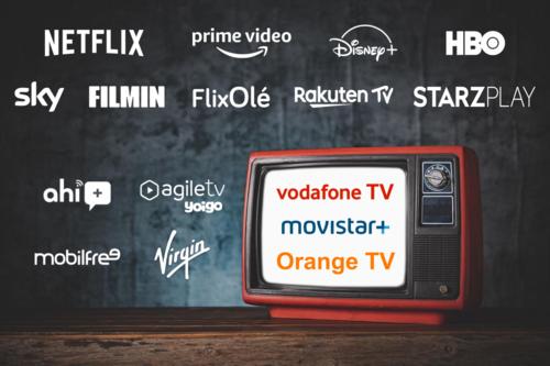 Comparativa de la televisión de Movistar, Vodafone, Orange, Yoigo, Virgin y otros: canales, precio y ventajas