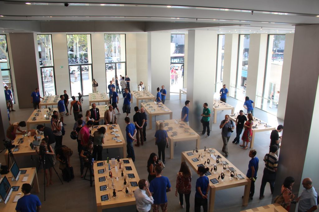 Foto de Apple Store Passeig de Gracia (16/50)