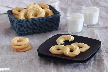 Receta de galletas crujientes de mantequilla, porque los buenos clásicos no necesitan florituras