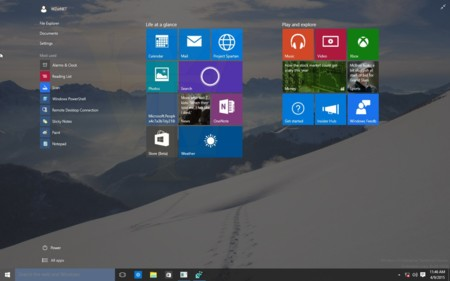 Se filtran capturas y la lista de cambios de una nueva build de Windows 10, la 10056