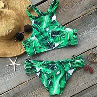Bikini de hojas por sólo 3,89 euros en Amazon