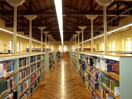 Sala De Lectura De La Biblioteca De La Rioja Biblioteca De La Rioja