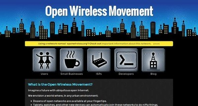 El primer firmware  de la  Open Wireless Movement para compartir el WiFi ya está disponible